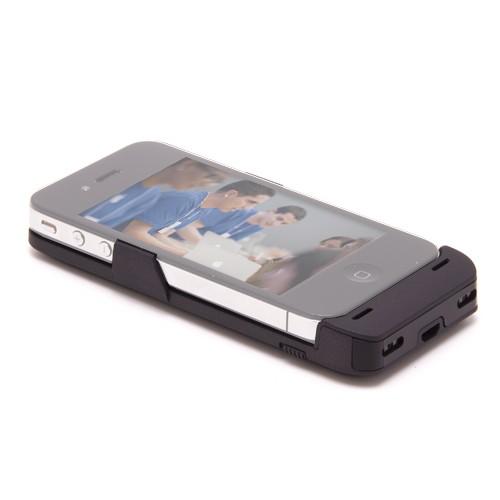 Coque-batterie pour iPhone 4 caméra cachée HD 2K 32Go