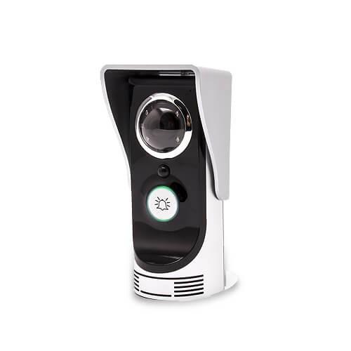 Interphone vidéo audio IP WiFi avec accès à distance par application mobile