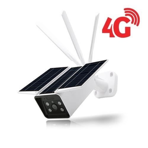 Caméra solaire IP GSM 4G extérieure HD 1080P