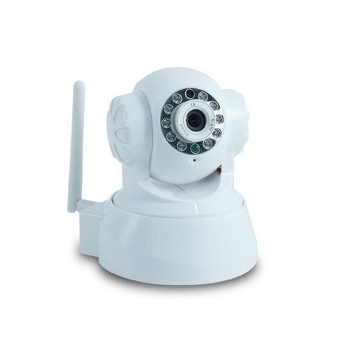 Caméra IP WiFi PTZ, commandée à distance sur iPhone Vision nocturne