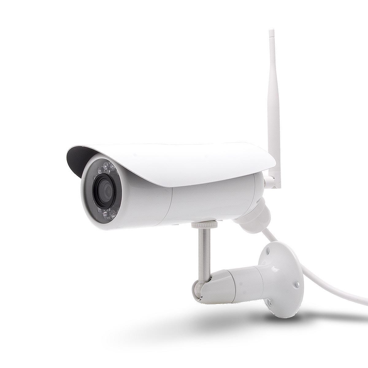 Caméra IP 3G extérieure waterproof HD 1080P vision nocturne avec détection sur SDHC et accès smartphone