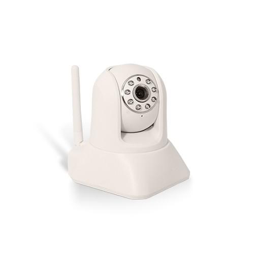 Caméra IP WiFi HD 720P pilotable avec détection de mouvement et carte SD