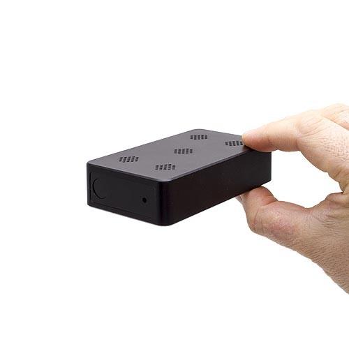 Micro caméra IP Wi-Fi HD 1080P longue autonomie avec détection de mouvement PIR dans une boite noire