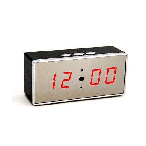 Caméra cachée horloge WIFI direct HD 1080P grand angle 140° avec vision nocturne et enregistrement sur carte micro SDHC 64 Go
