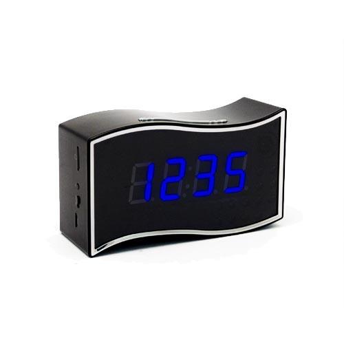 Horloge caméra cachée IP WiFi HD 1080P avec vision nocturne et enregistreur sur carte 64Go