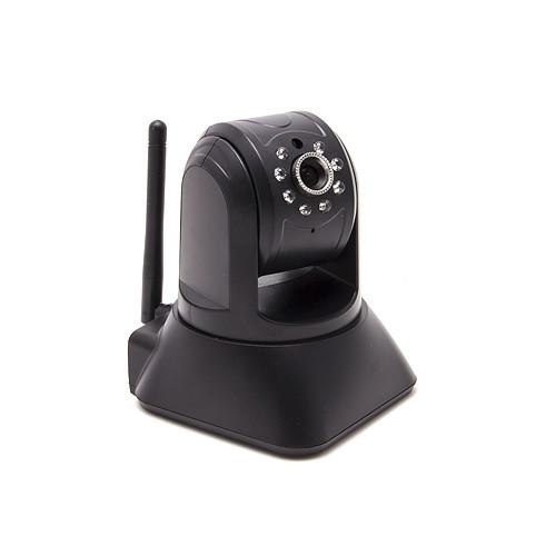Caméra pilotable IP WiFi HD 720P P2P Onvif microSD