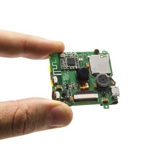 Module enregistreur et caméra IP Wifi HD 720P avec haut-parleur microphone et 32 Go de mémoire