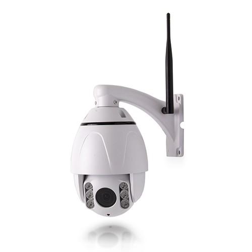 Caméra PTZ IP WiFi HD 1080P waterproof pilotable zoom ×5 avec détection de mouvement
