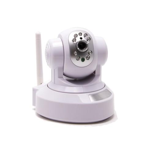 Caméra IP Cloud P2P pilotable HD 720P WiFi Infrarouge avec slot microSD