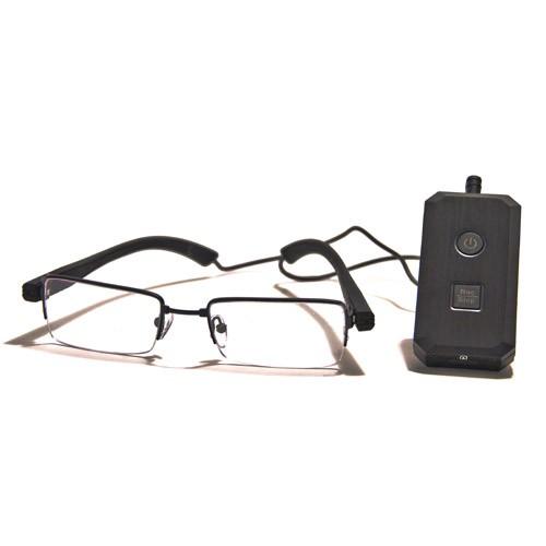 Kit complet caméra lunettes avec micro enregistreur audio video