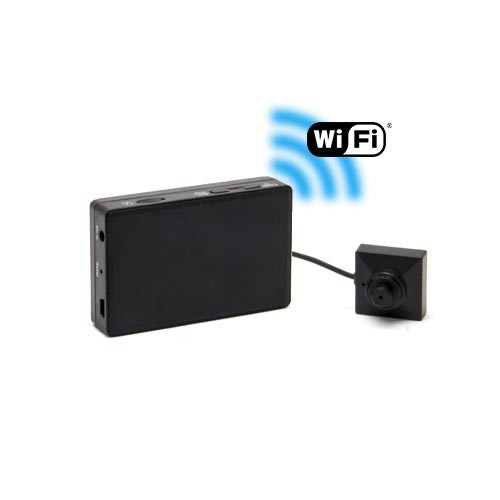 Kit micro caméra HD 1080P bouton & vis avec micro enregistreur WiFi portable