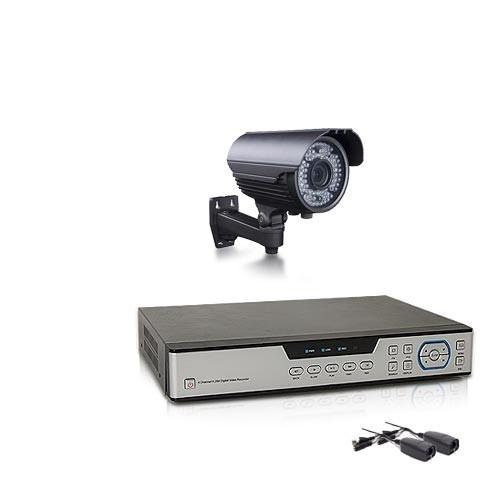 Kit vidéosurveillance avec enregistreur IP 1 TO et 1 caméras AHD 1080P extérieure