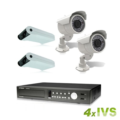 Kit de vidéosurveillance  IVS-744