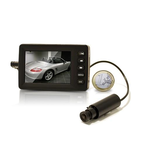Kit vidéosurveillance antivandalisme véhicule