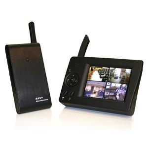 Kit caméra couleur et audio sans fil numérique et récepteur LCD