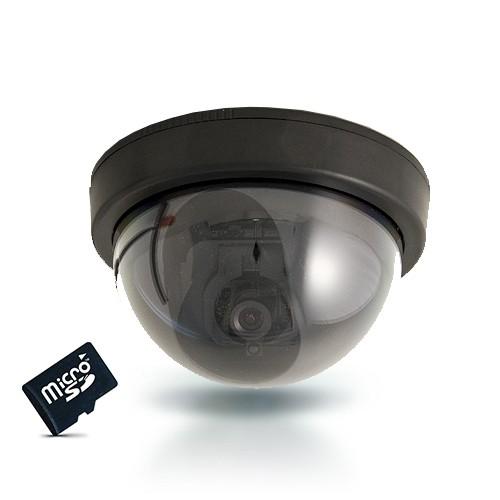 Caméra dôme 420 lignes avec détection de mouvement et carte SDHC