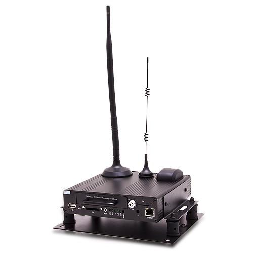 """Serveur vidéosurveillance 3G WiFi GPS 2 voies avec disque dur 2,5"""" rackable"""