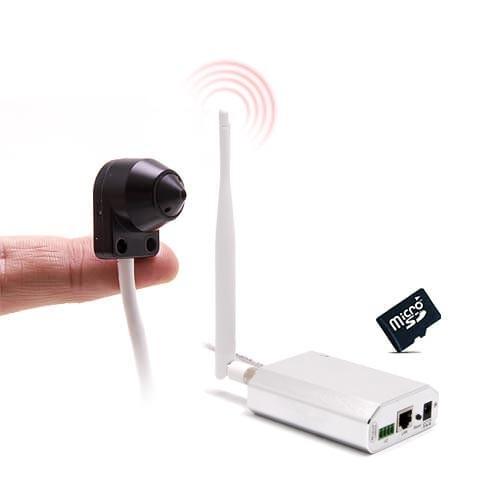 Micro Caméra et enregistreur IP P2P 4G HD 720P avec accès à distance