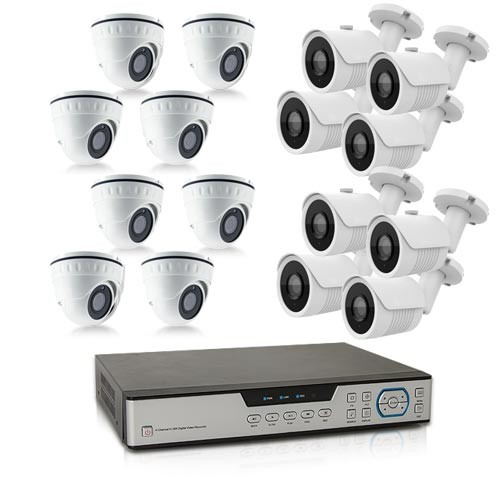 Kit video surveillance 1 To avec 16 cameras