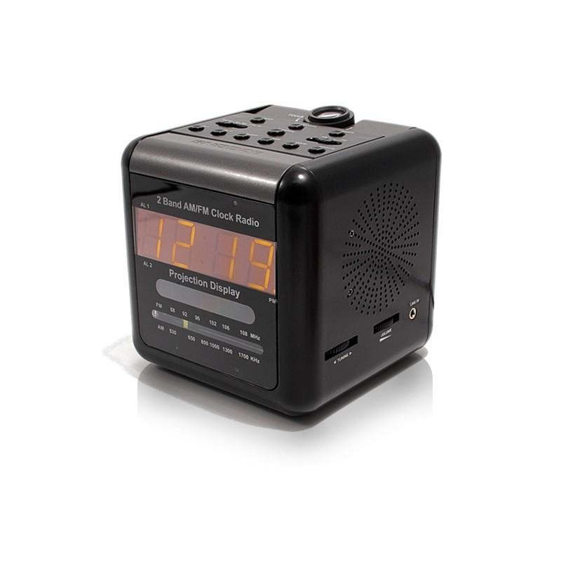Radio réveil caméra IP et WiFi enregistre microSDHC jusqu'à 32Go