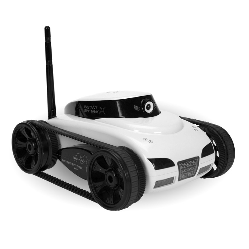 SpyTank caméra commandé par WiFi