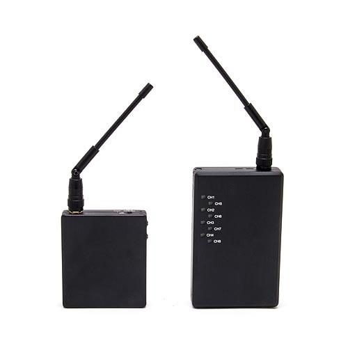 Kit émetteur récepteur audio video 2.4 Ghz autonome 100 mW