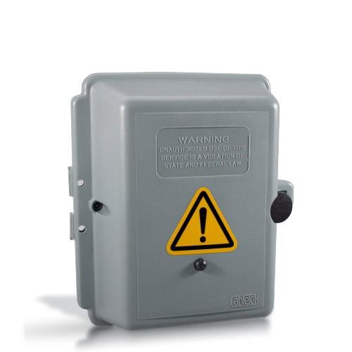 Boîte électrique avec kit d'enregistrement vidéo longue autonomie