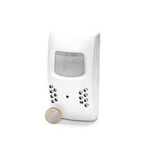 Camera CCD et enregistreur audio video dans un détecteur de présence