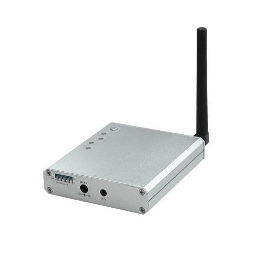 Récepteur audio vidéo 2.4 Ghz quatre canaux