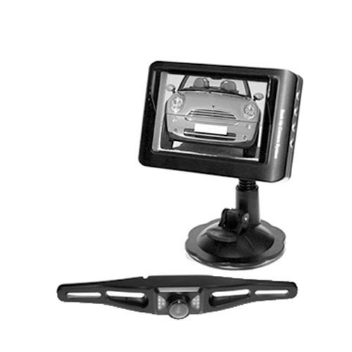 Caméra de recul sans fil et récepteur LCD