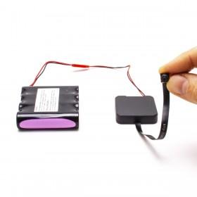 Module micro caméra IP WiFi HD longue autonomie avec enregistrement à intégrer microSD 128 Go incluse
