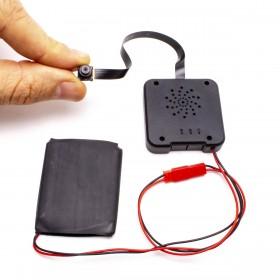 Module micro caméra IP WiFi HD avec enregistrement à intégrer microSD 128 Go incluse