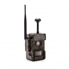 Caméra de chasse HD 1080P IR invisible GPS GSM 4G alerte push envoi photo et vidéo sur application iOS et Android serveur cloud e-mail et FTP