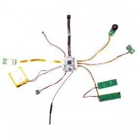 Module micro caméra WiFi P2P HD 1080P à intégrer avec IR invisible détecteur de mouvement et enregistreur sur carte microSD 128 Go