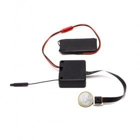 Micro caméra à integrer IP WiFi P2P autonome HD 1080P avec carte microSD 64 Go