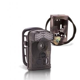 Dernière génération - Caméra de chasse autonome HD 720P IR avec box anti-vandale