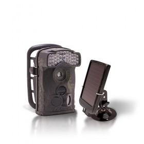 Dernière génération - Caméra de chasse autonome HD 720P IR avec batterie solaire