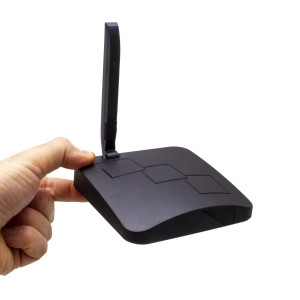Routeur Wi-Fi avec micro caméra IP Wi-Fi HD avec vision nocturne
