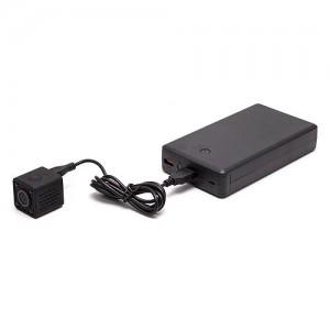 Kit micro caméra WiFi HD 1080P autonome avec infrarouge invisible mémoire avec batterie longue autonomie 30A et microSD 32Go
