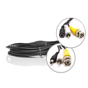 Câble vidéo RCA + alimentation de 5 metres