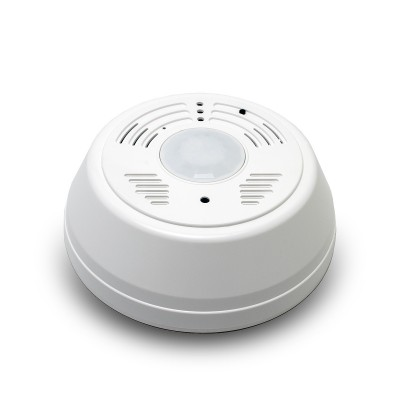 Caméra cachée WiFi longue autonomie dans un détecteur de fumée factice