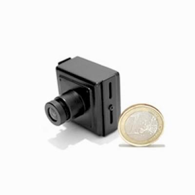 Micro caméra filaire couleur CCD 520 lignes jour nuit mini objectif