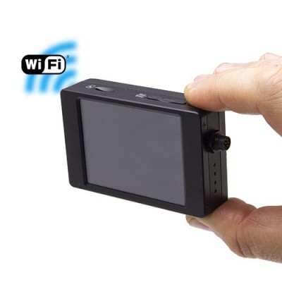 Micro enregistreur professionnel HD 1080P avec écran tactile et connexion WiFi sur smartphone iOS & Android