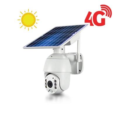 Caméra pilotable solaire IP GSM 4G