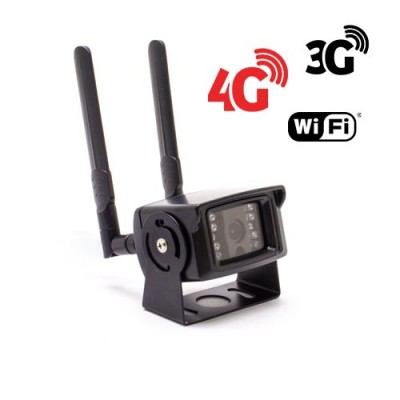 Caméra IP GSM 4G WiFi UHD 5 Mpx waterproof Infrarouge accès à distance via iPhone Android et PC