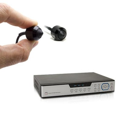 Kit enregistreur de vidéosurveillance et 2 micro caméras snake AHD 1080P