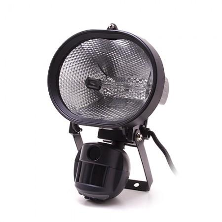 Caméra extérieure avec éclairage halogène et détection de mouvement