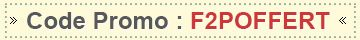 Code promo: F2POFFERT
