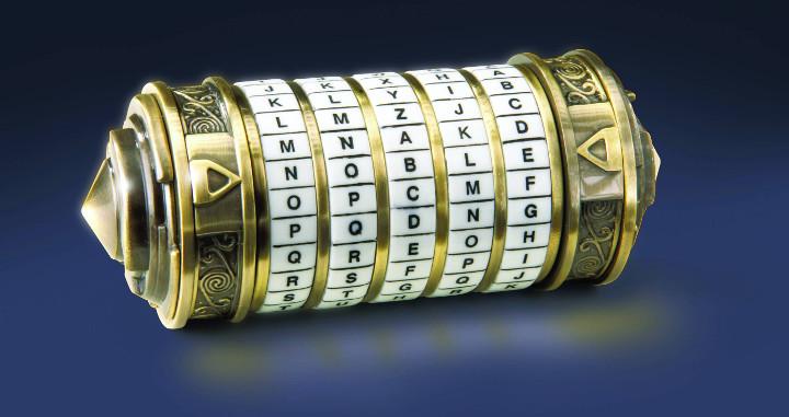 Cryptex de Léonardo Da Vinci