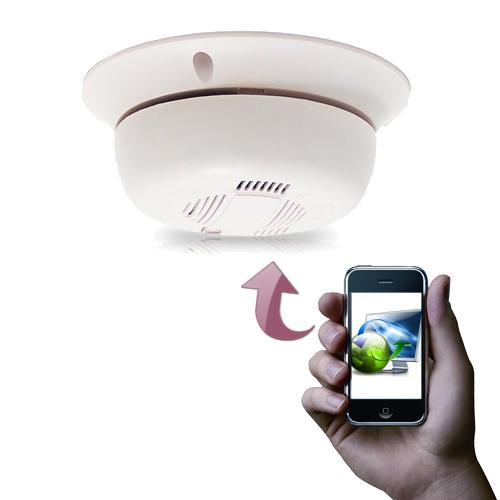 Le détecteur factice IP-SMOKE-WIFI